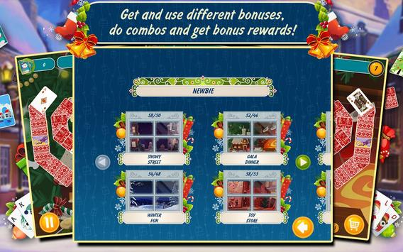 Solitaire Christmas Match Free screenshot 7