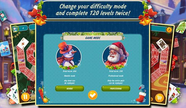 Solitaire Christmas Match Free screenshot 13