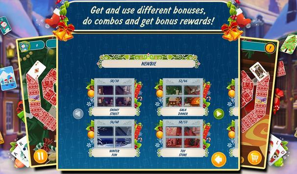 Solitaire Christmas Match Free screenshot 12