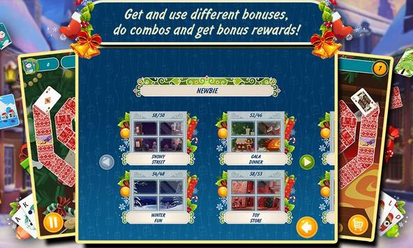 Solitaire Christmas Match Free screenshot 2