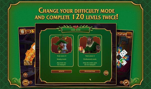 Solitaire Game. Christmas Free apk screenshot