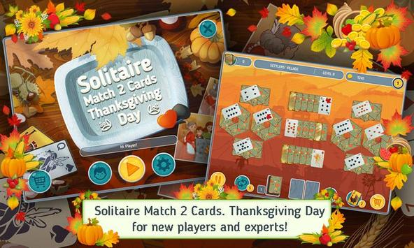Solitaire Match 2 Cards Free poster