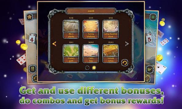 Pirate's Solitaire 3 Free apk screenshot