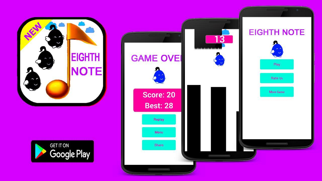 Eighth Note Scream-Voice for Android - APK Download