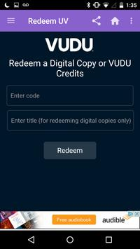 Redeem UV screenshot 1