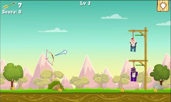 Gibbets Rescue Bow Master screenshot 13
