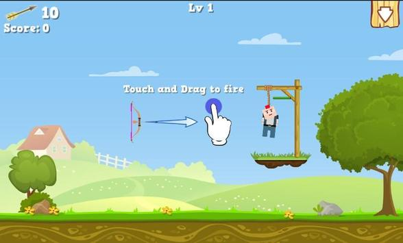 Gibbets Rescue Bow Master screenshot 2