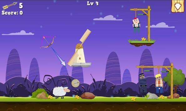 Gibbets Rescue Bow Master screenshot 4