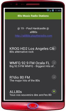 80s Music Radio Stations screenshot 1