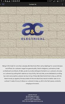 A&C Electrical apk screenshot