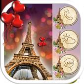 Eiffel Tower Paris Launcher Theme icon