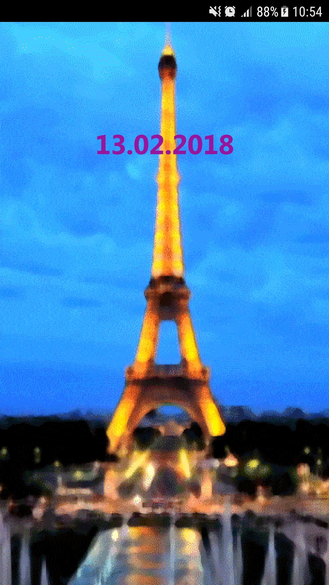 Wallpaper Menara Eiffel Paris Layar Kunci For Android APK