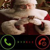 ikon Santa Clause Fake Call Free