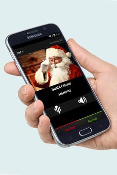 Santa Clause Fake Call Free screenshot 1