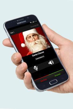 Santa Clause Fake Call Free screenshot 2