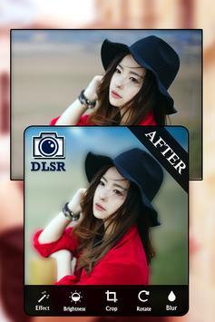 DSLR Camera - HD Blur Photo Editor poster