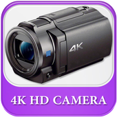 HD 4K Ultra Camera  High Mega ZoomCam icon