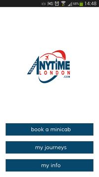 Anytime London Cars poster