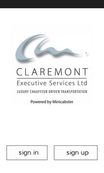 Claremont Executive Services poster