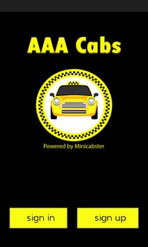 AAA Cabs poster