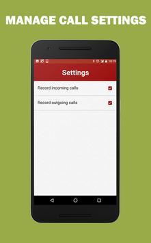 Auto Call Audio Recorder Free screenshot 3