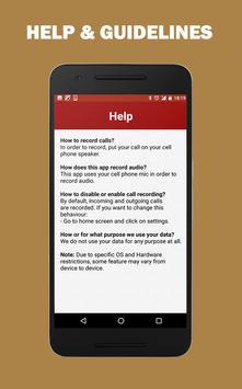 Auto Call Audio Recorder Free screenshot 4