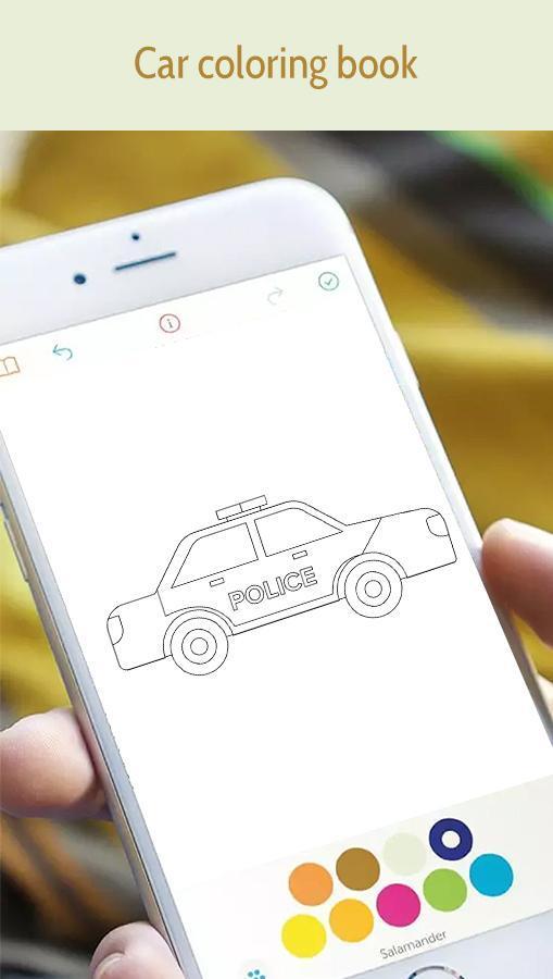 Android Icin Araba Boyama Kitabi Apk Yi Indir