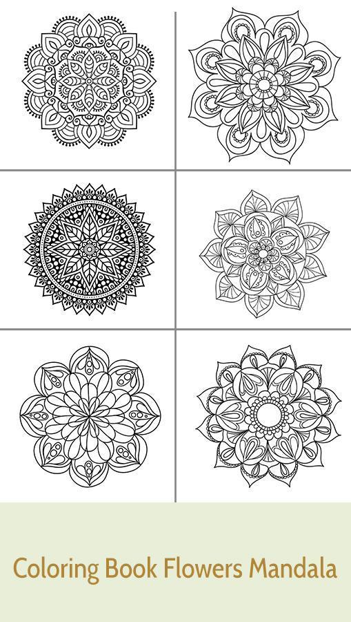 Cicek Mandala Vektor Illustrasyon Zentangl Doodle Cizimi Meditatif