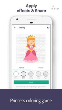 Kids coloring book Princess screenshot 3