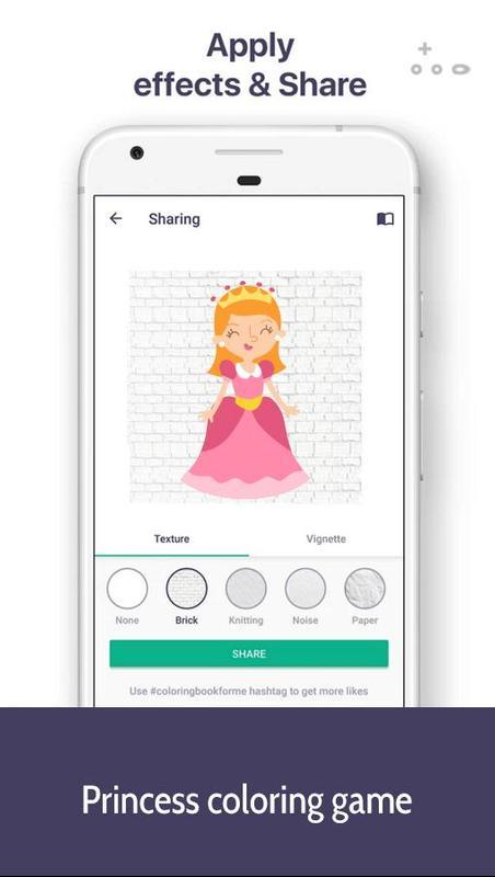 Android Için Prenses Boyama Oyunu Apkyı Indir