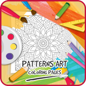 Patterns Art Coloring Pages icon