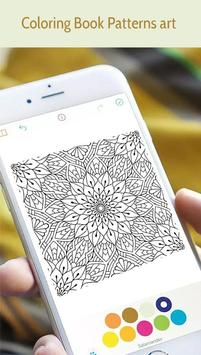 Patterns Art Coloring Pages apk screenshot