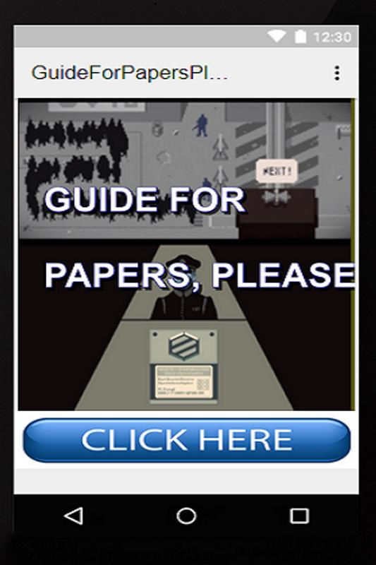 download papers please apk
