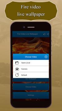 Fire HD Video Live Wallpaper screenshot 3