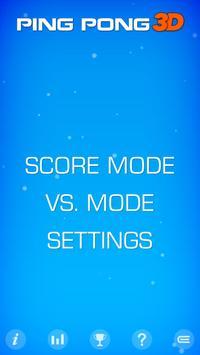 Ping Pong 3D FREE apk screenshot