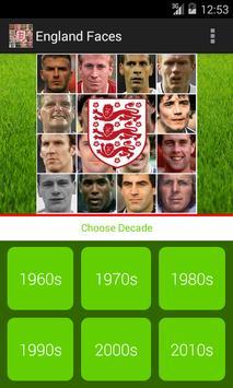 England Faces screenshot 4