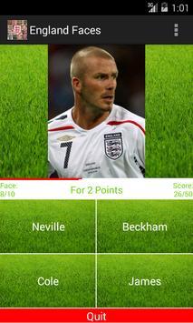 England Faces screenshot 2