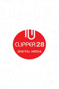 Clipper28 Digital Media poster