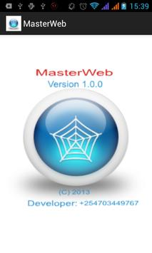 MasterWeb apk screenshot