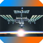 International Space Station 3D icon