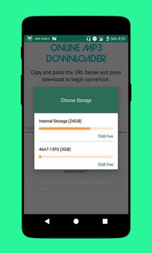 Online Mp3 Downloader apk screenshot