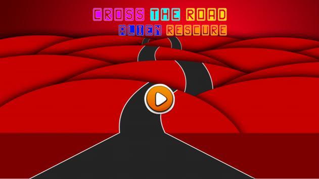 Cross The Road: Alien Rescure screenshot 1