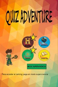 Quiz Aventura Preguntas poster
