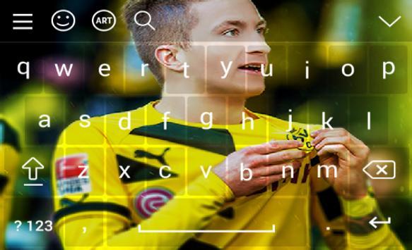 New Keyboard For Marco Reus screenshot 2