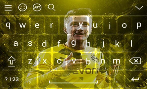 New Keyboard For Marco Reus screenshot 3
