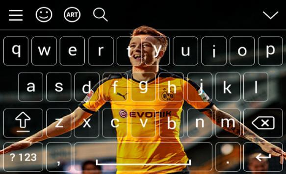 New Keyboard For Marco Reus screenshot 4