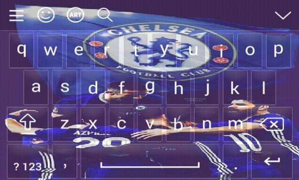 New Keyboard For Chelsea screenshot 4