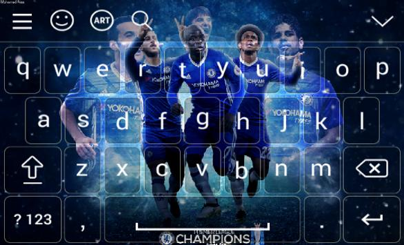 New Keyboard For Chelsea poster