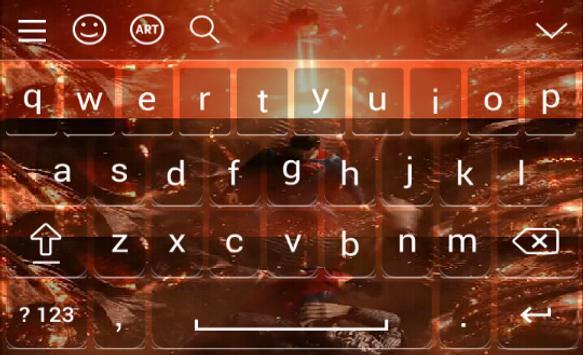 Keyboard for Justice League screenshot 6