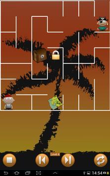 Pirate Island Maze Treasure poster
